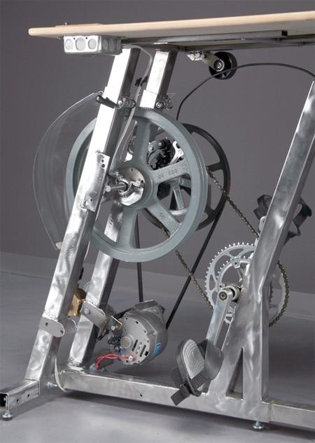 پدال دوچرخه تولید برق