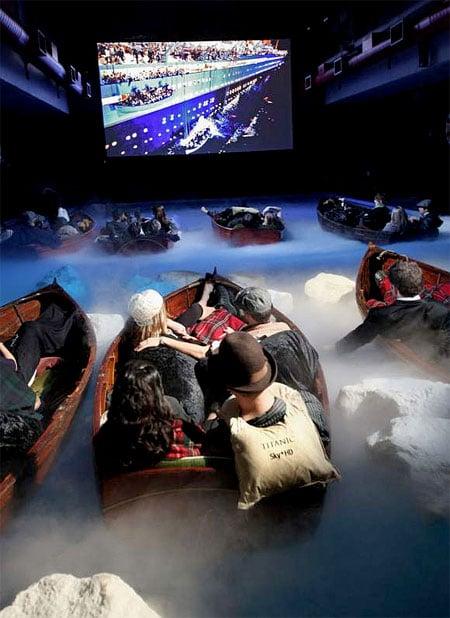 سالن سینمای آبی