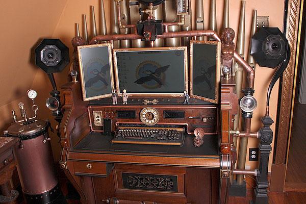 میز کامپیوتر قدیمی