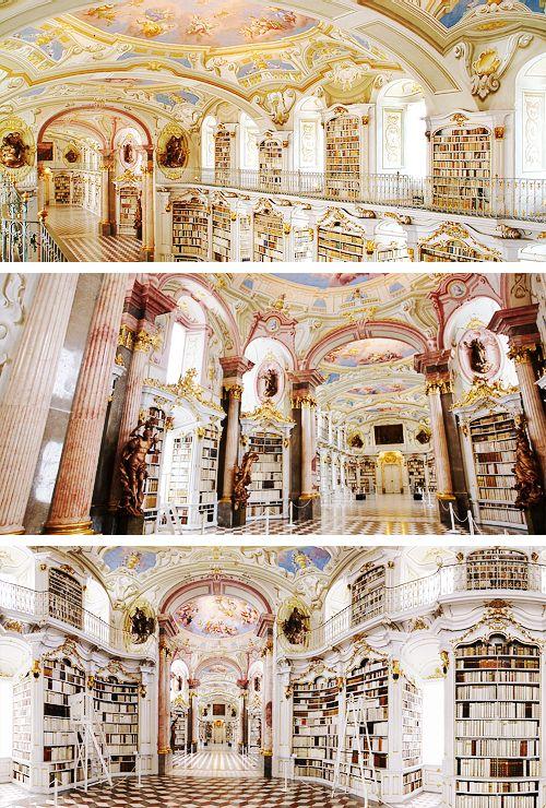 کتابخانه ادمونت ابی اتریش