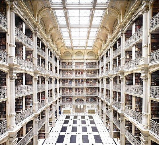 کتابخانه جورج پی بادی آمریکا
