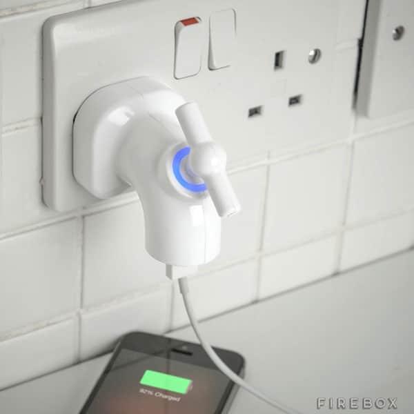 شیر شارژر USB