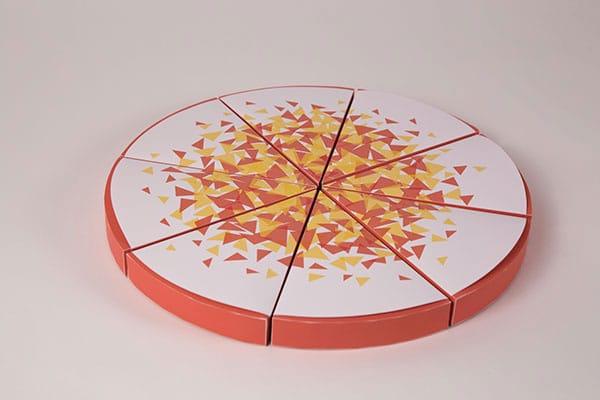 بسته بندی جالب پیتزا