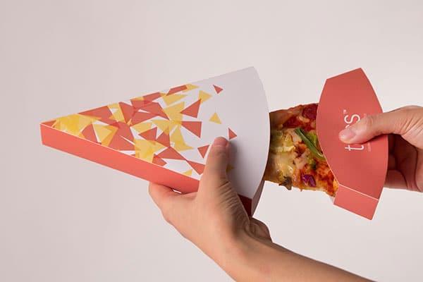 بسته بندی قاچ پیتزا