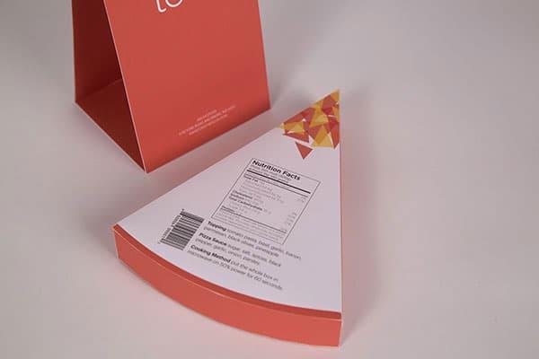 بسته بندی مثلثی پیتزا