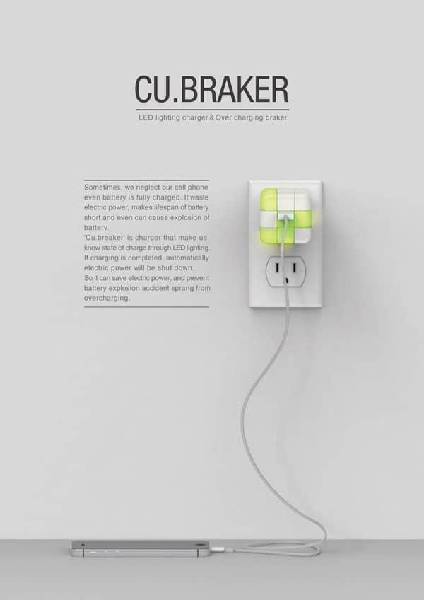 شارژر USB دیواری مکعب روبیک