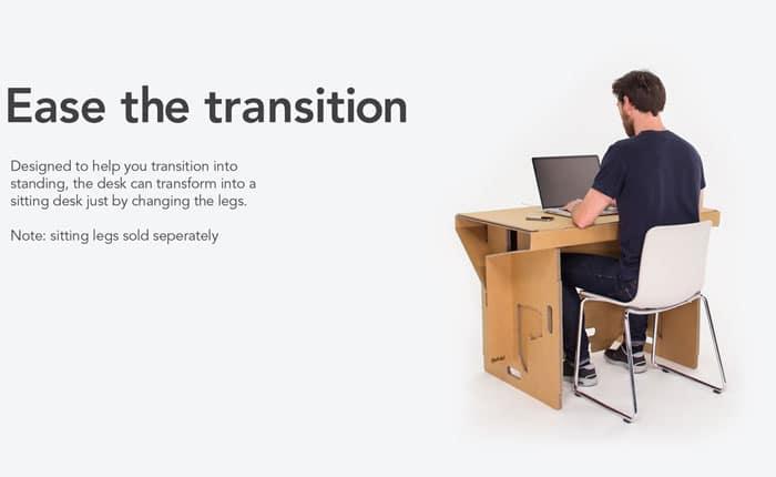 میز کامپیوتر مقوایی