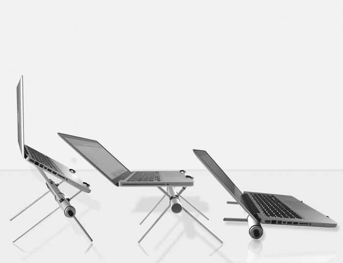 استند لپ تاپ فلزی