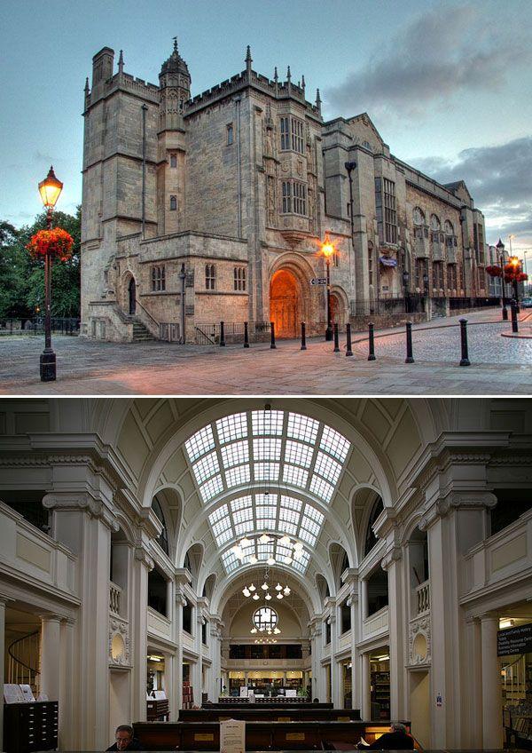 کتابخانه بریستول انگلستان