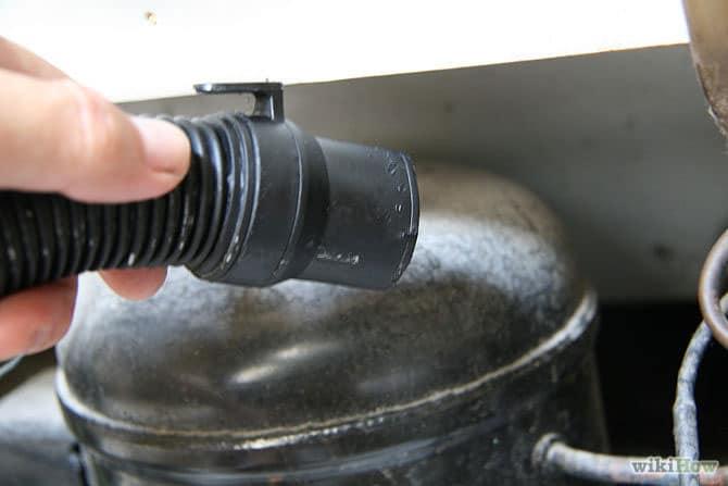 تمیز کردن موتور یخچال فریزر