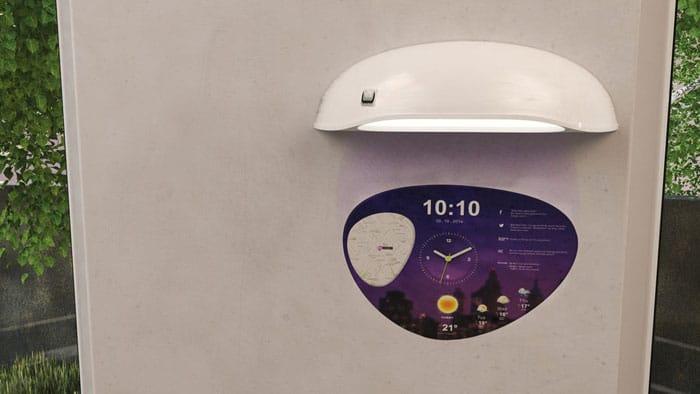 ساعت هوشمند دیواری