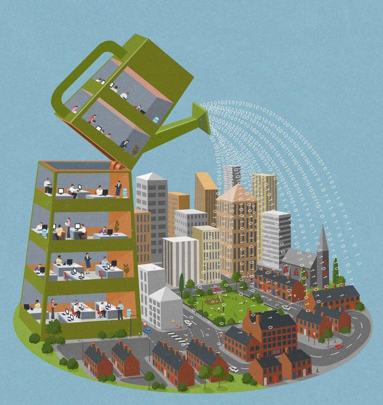 رشد جامعه شهری
