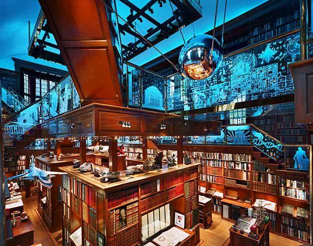 کتابخانه واکر آمریکا