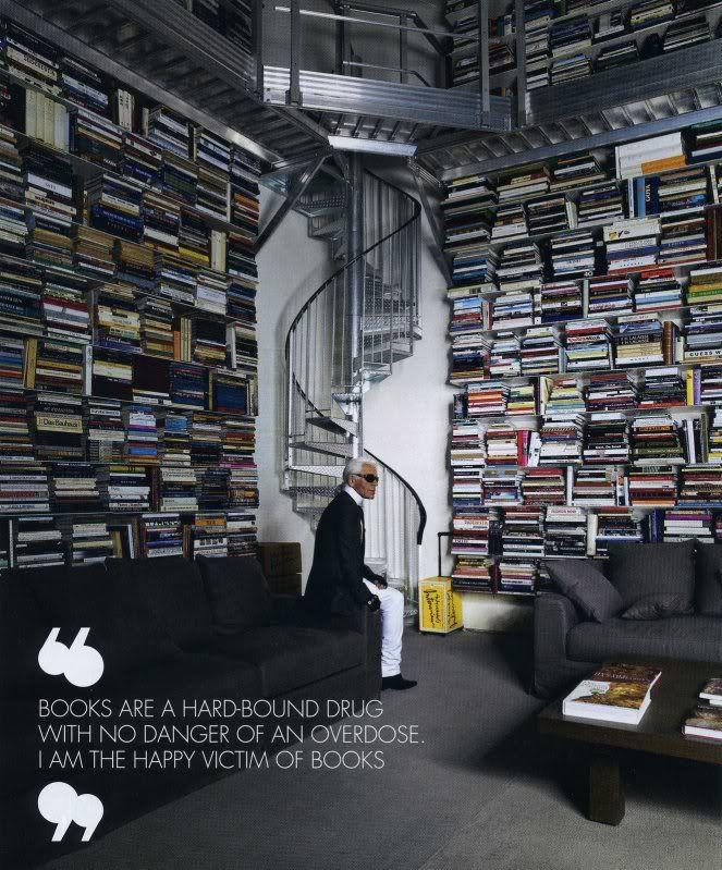 کتابخانه شخصی کارل لاگرفلد پاریس