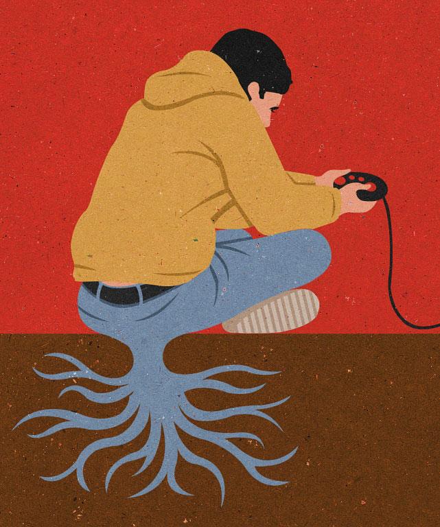 اعتیاد به بازی کامپیوتری