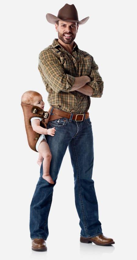 نگهدارنده کمری نوزاد