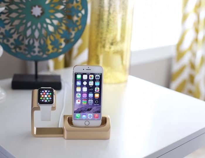 داک شارژر موبایل آیفون و اپل واچ