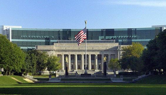 کتابخانه ایندیانا پلیس آمریکا