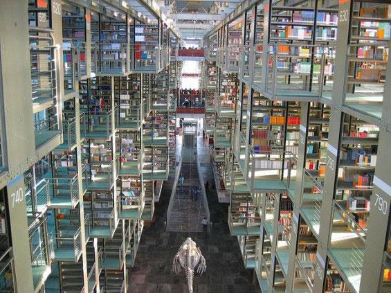 کتابخانه ژوزه واسکونسلوس مکزیک