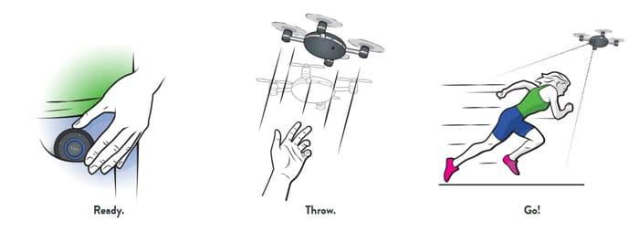 دوربین پرنده سلفی