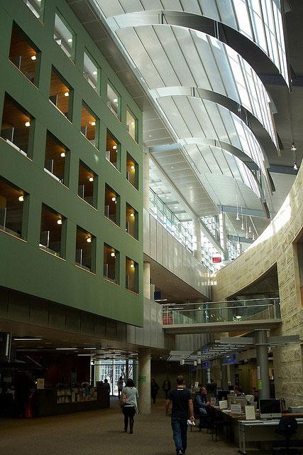کتابخانه دانشگاه اوتاگو نیوزیلند