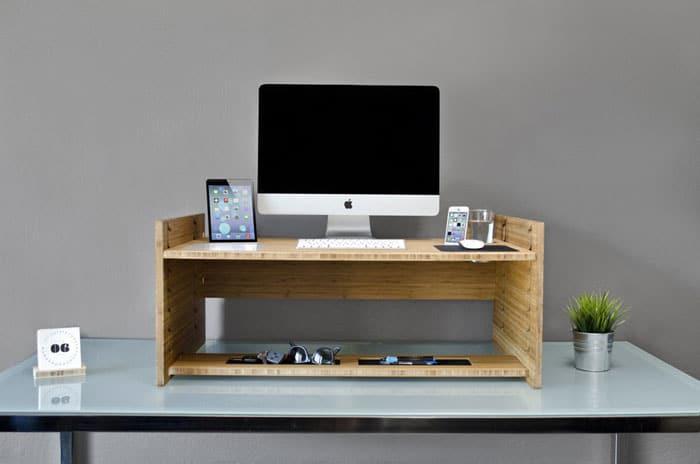 میز کامپیوتر چوبی