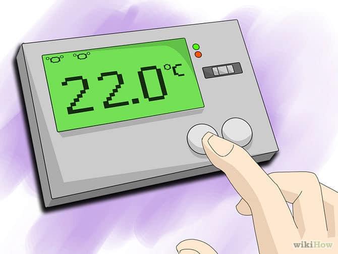 تنظیم دمای هوا