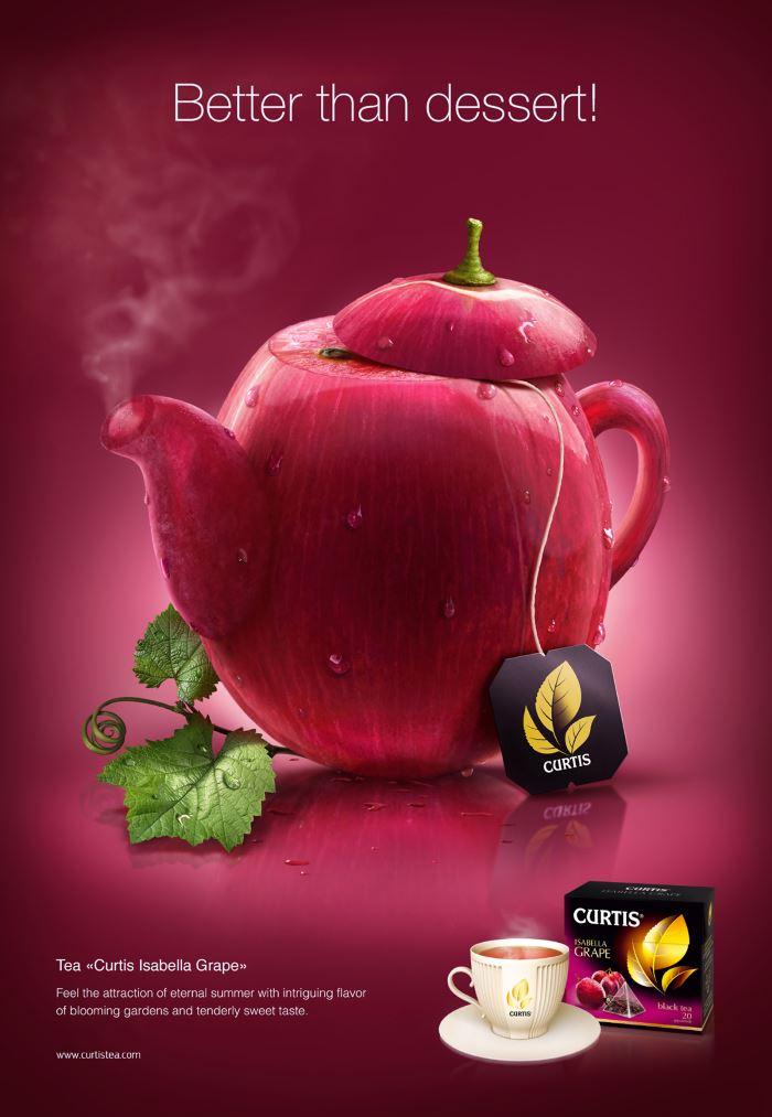 تبلیغ جالب چای