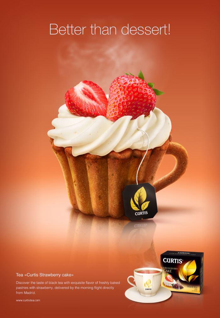 تبلیغ خلاقانه چای