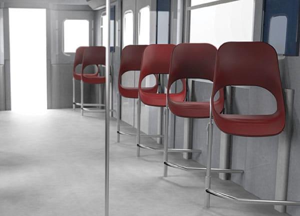 صندلی مترو مدرن
