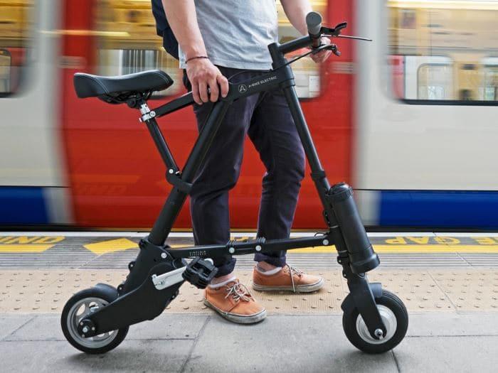 دوچرخه برقی تاشو سبک