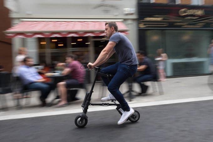 دوچرخه برقی پدالی