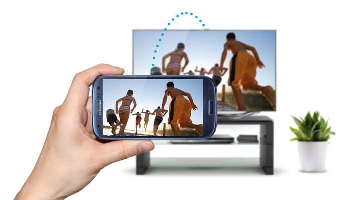 اتصال گوشی به تلویزیون بی سیم