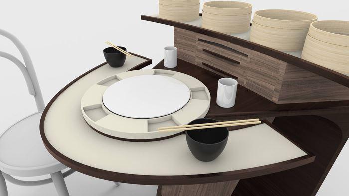 میز ناهار خوری کوچک
