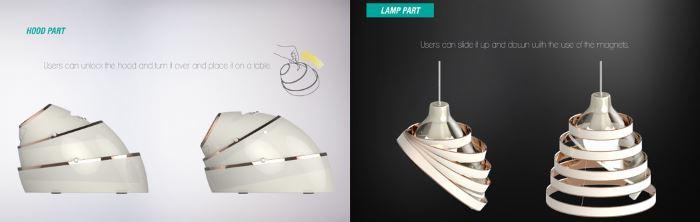 هود و لامپ