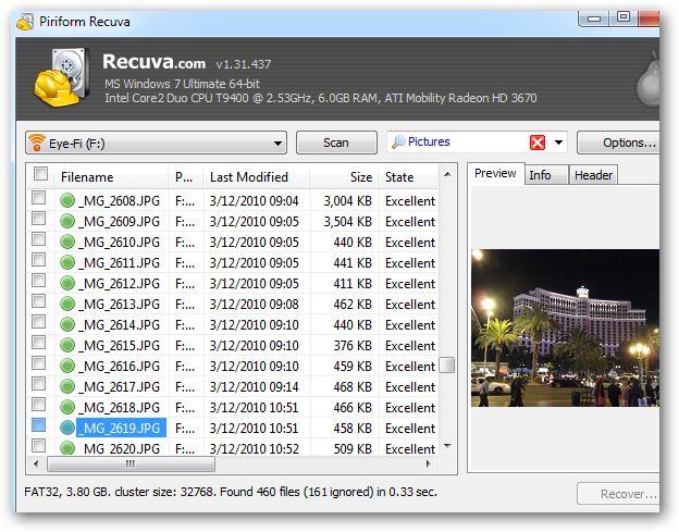 نرم افزار ریکاوری عکس
