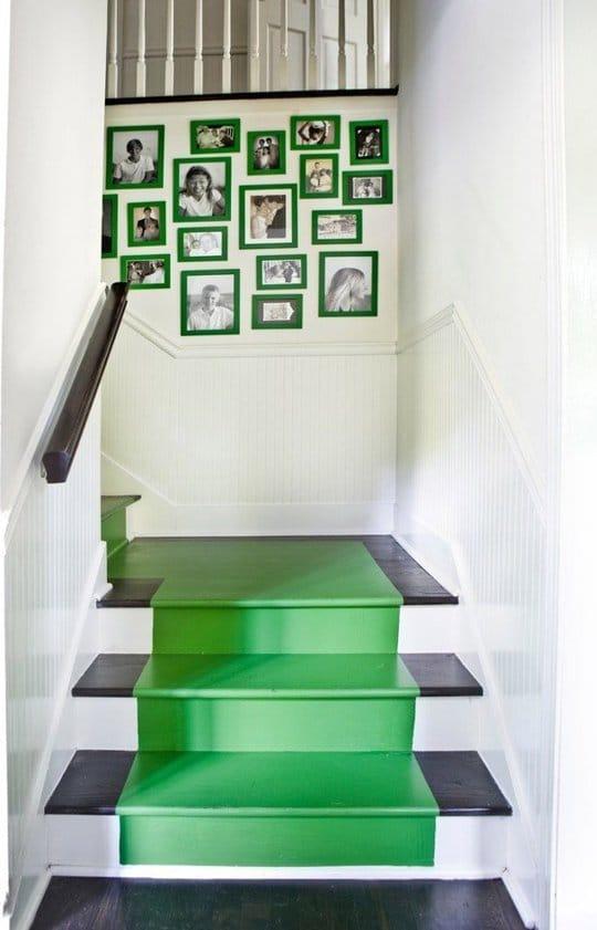 راه پله سبز