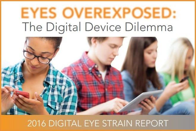 گزارش فشار چشم دیجیتال