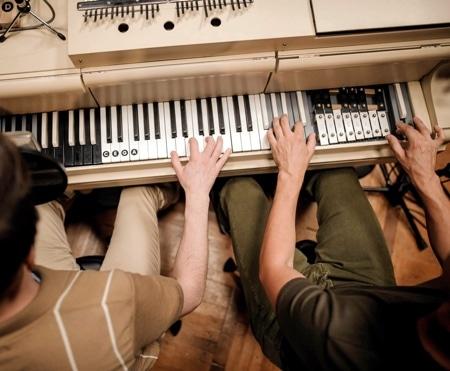 پیانو قدیمی سفارشی سازی