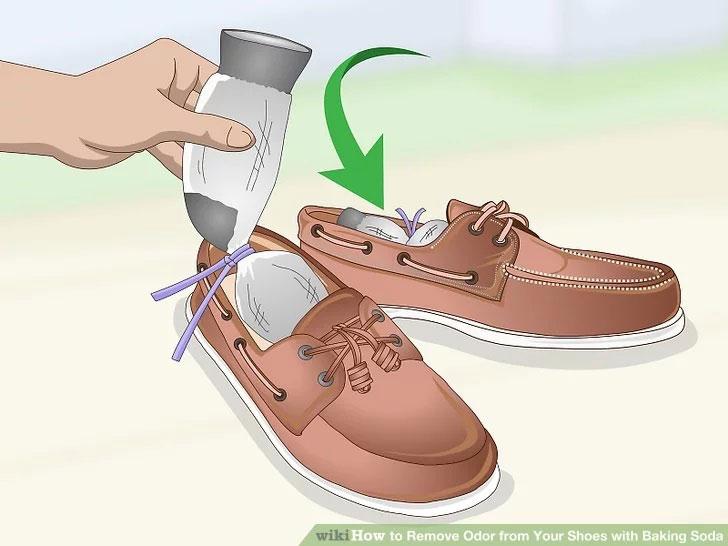 جوش شیرین کفش چرمی