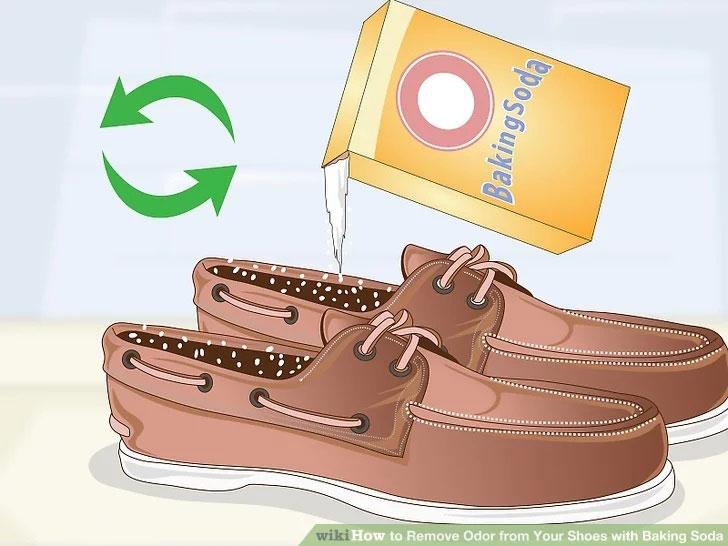 جوش شیرین برای کفش