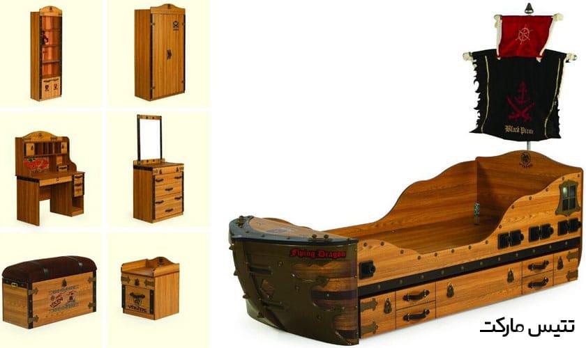سرویس اتاق خواب کشتی وایکینگ