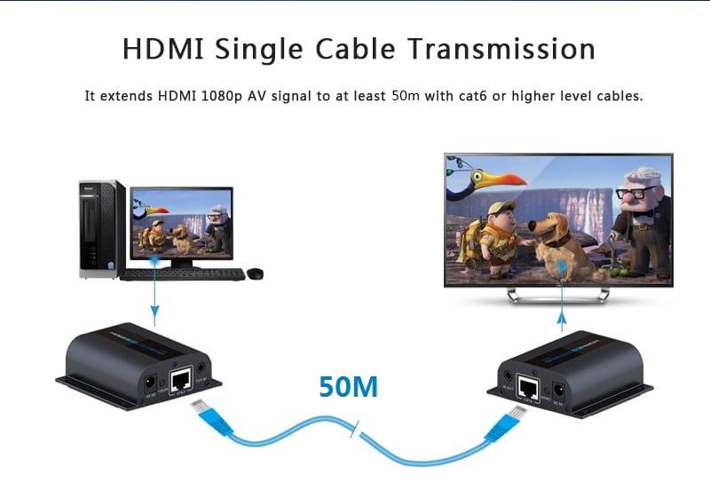 افزایش دهنده HDMI LKV372Pro
