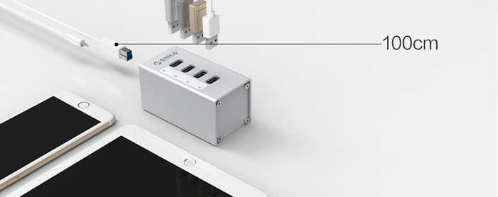 کابل USB 3.0 هاب