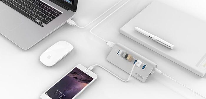 هاب 7 پورت USB 3.0
