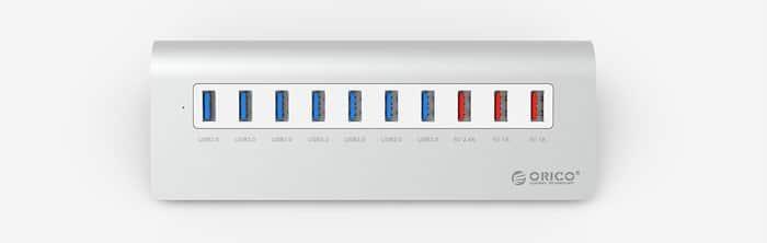 هاب و شارژر USB 3.0
