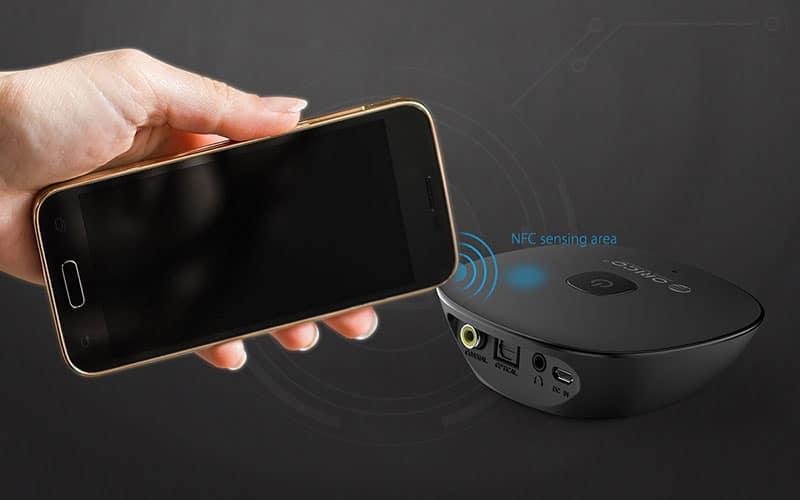 گیرنده صوتی بلوتوث NFC