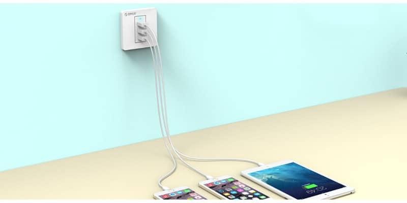 پریز USB دار دیواری