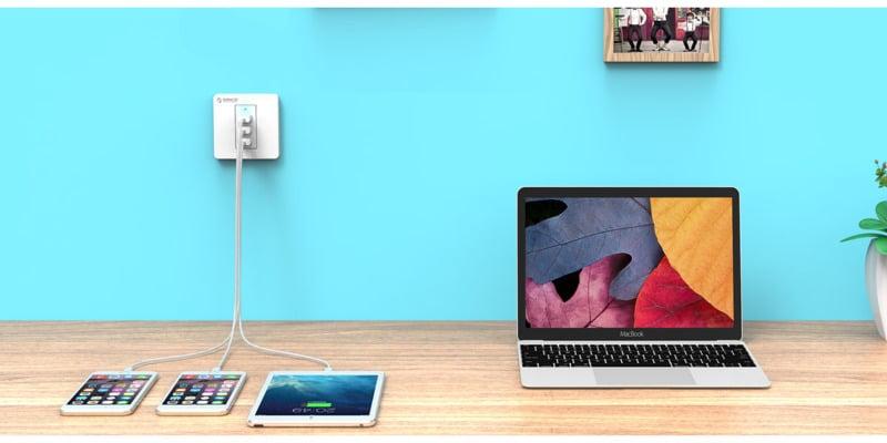 پریز USB دیواری