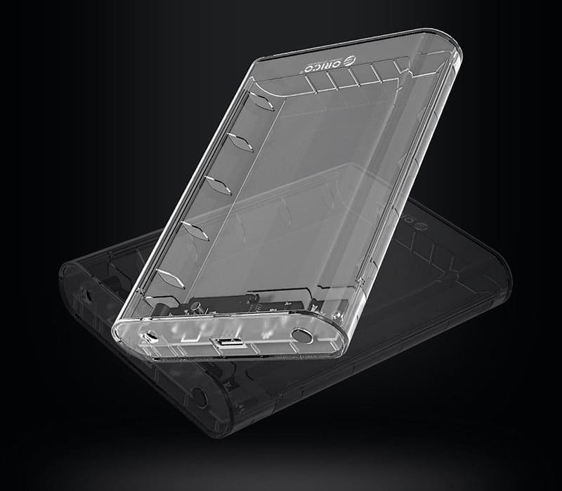 باکس هارد شفاف
